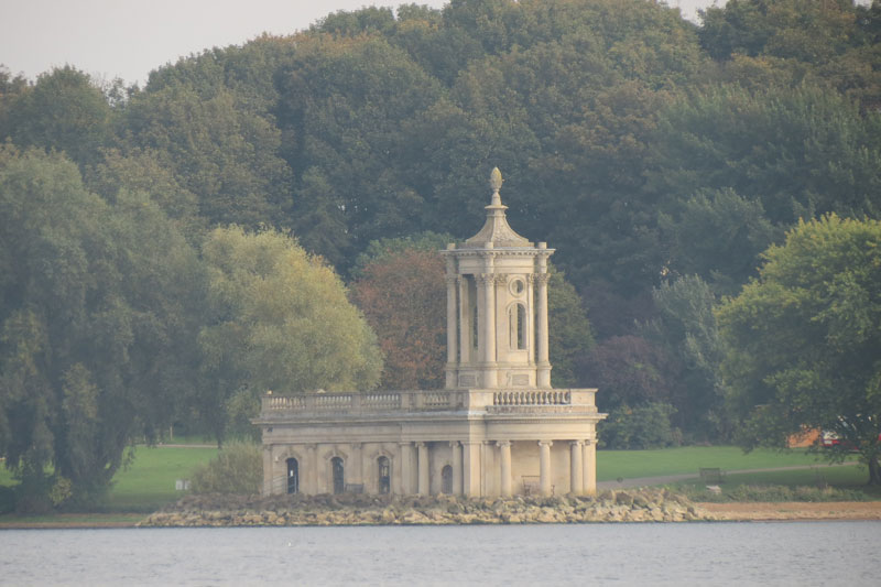 Normanton Church in Rutland Water
