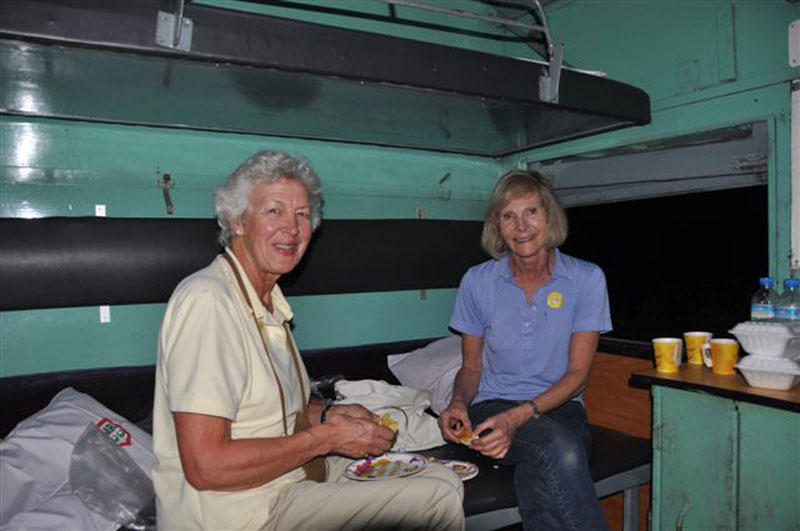 er compartment on the Mandalay Express (Judith Blashford-Snell & Pamela Coleridge)