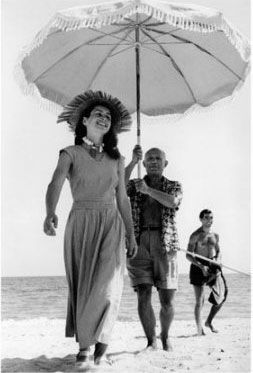 Pablo-Picasso-and-Francoise-Gilot