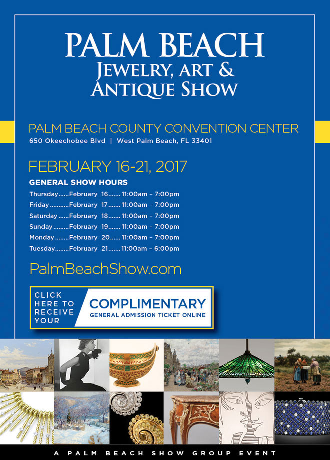 Wick Antiques at Palm Beach Jewellery Art and Antiques Show at Palm Beach
