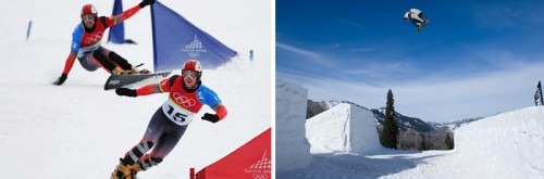 Parallel Slalom and Slopestyle