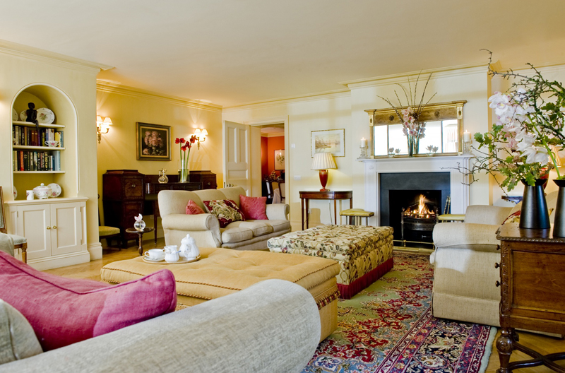 Drawing Room at Park House Hotel Bepton