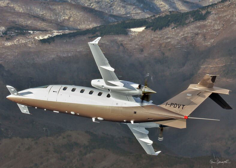 Piaggio Avanti EVO showint Three Lifting Surface Design TLS