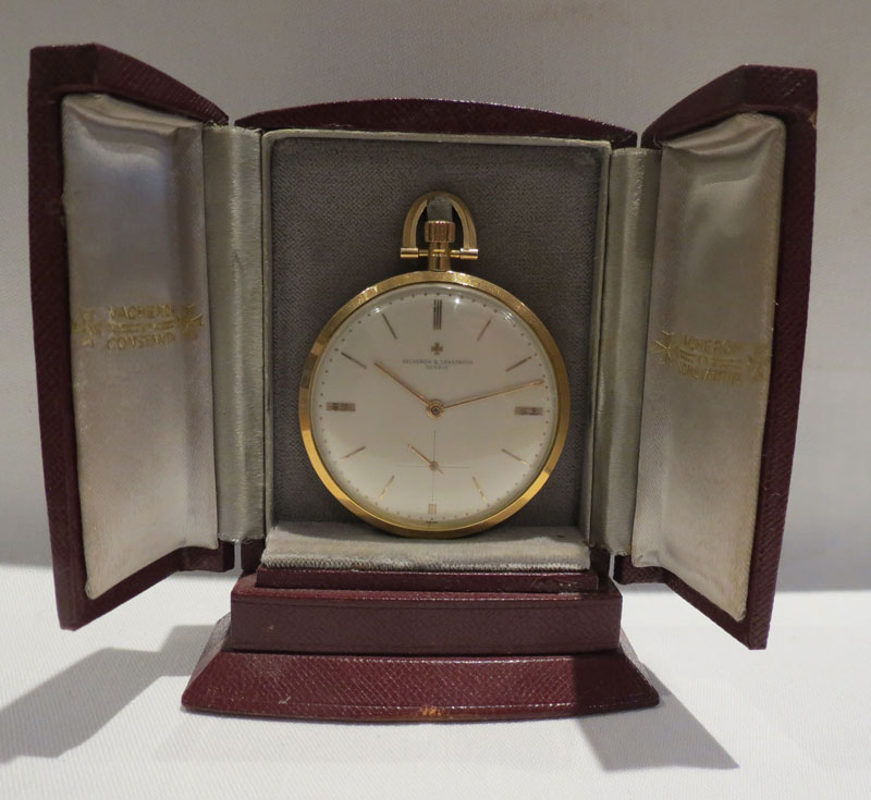 Vacheron and Constantin Ultra Slim 18 carat gold Pocket Watch