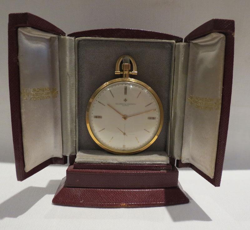 Vacheron and Constantin Ultra Slim 18 carat gold Pocket Watch