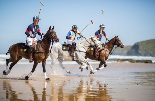 Polo on the Beach Watergate Bay Hotel Cornwall