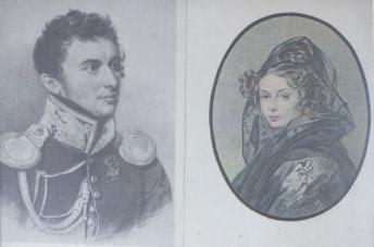 Prince Sergei Volkonsky and Maria Raevsky