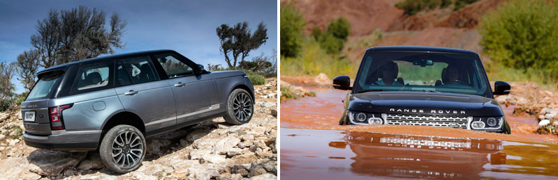 Range Rover Vogue Off Road