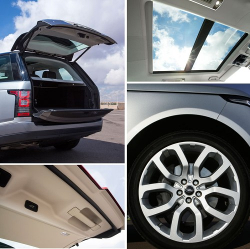 Range Rover Vogue Panoramic Roof and New 5 Spoke Wheel Design