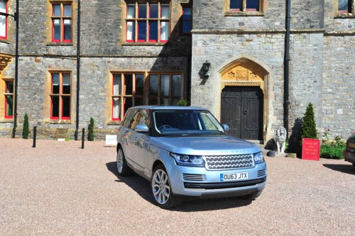 Range Rover at Huntsham Court