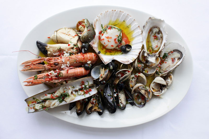 Rick Stein Sandbanks Hot Shellfish