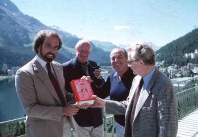 Robert-Jarman-with-Andreas-and-Hansjurg-Badrutt-and-Philip-Edwards