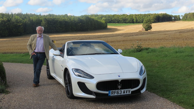 Robert-Jarman-with-Maserati-GranCabrio-MC