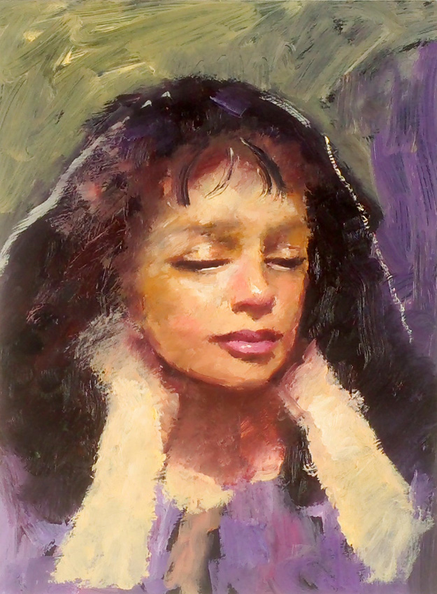 Robert Lenkiewicz Small portrait