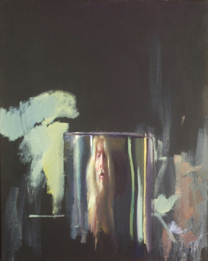 Robert Lenkiewicz The painter reflected in a tin
