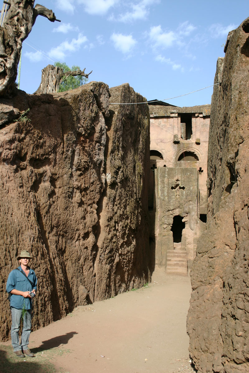 Rock hewn church Lallibela Ethiopia