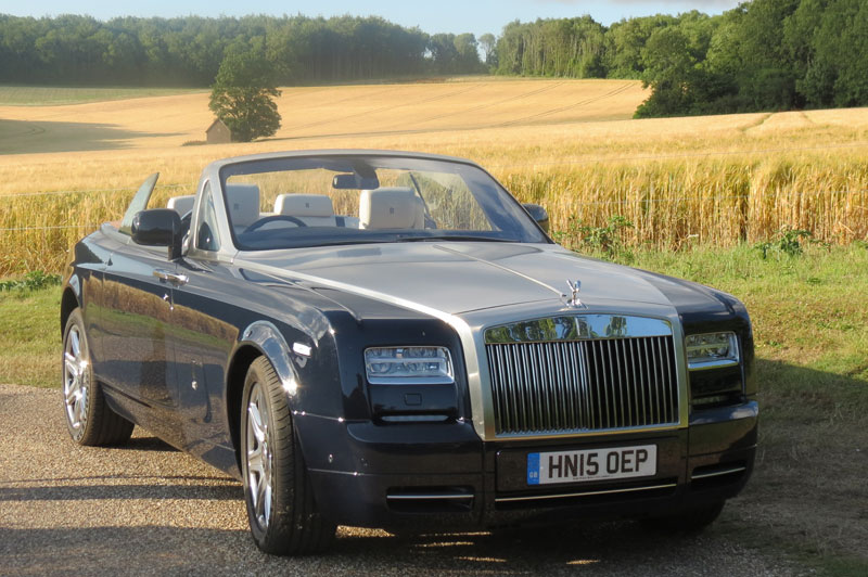 Rolls-Royce-Drophead-with-ripe-barley-field-backdrop