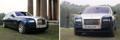 Rolls Royce Ghost at The Grange Park Opera