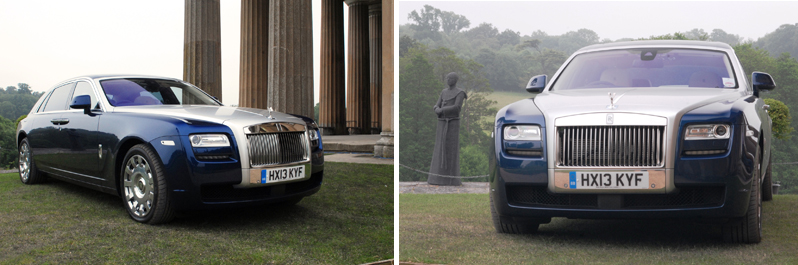 Rolls Royce Ghost at The Grange Park Opera