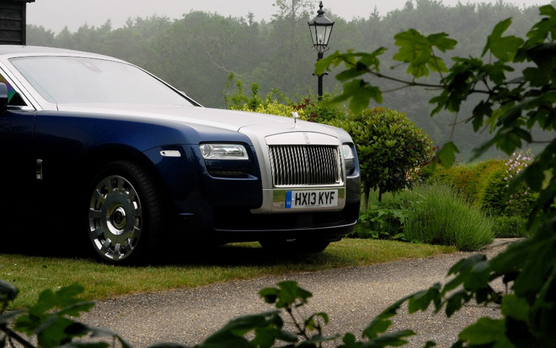 Rolls Royce Ghost extended wheel base model