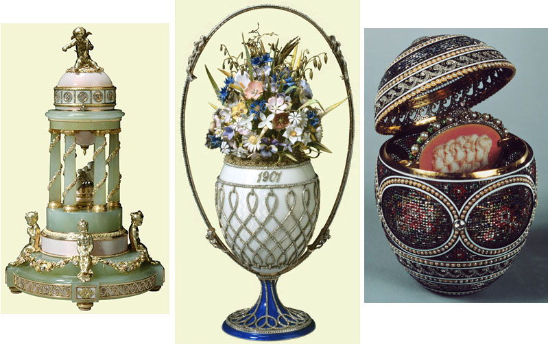 Royal Collection of Imperial Faberge Eggs