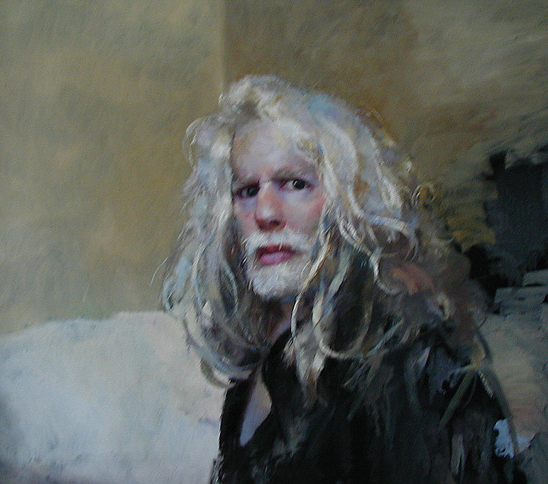 Robert Oscar Lenkiewicz Self Portrait
