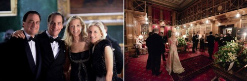 Shooting-Party-in-Alnwick-Castle
