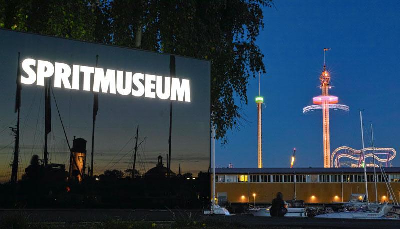 Museum of Spirits in Djurgarden Stockholm