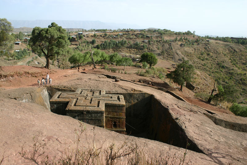 St Georges Lalibela Ethiopia