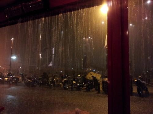 St Tropez in the rain