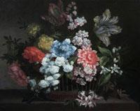 Still-Life-of-Flowers-by-Monnyeur