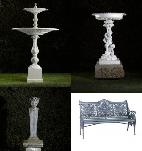 Summers Place May AuctionTraditinal Garden Statuary