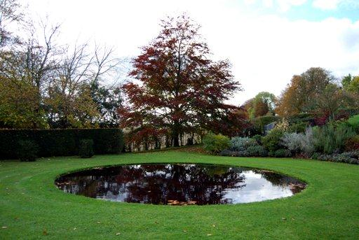 Taylor Tripp Landscape Design Circular pond