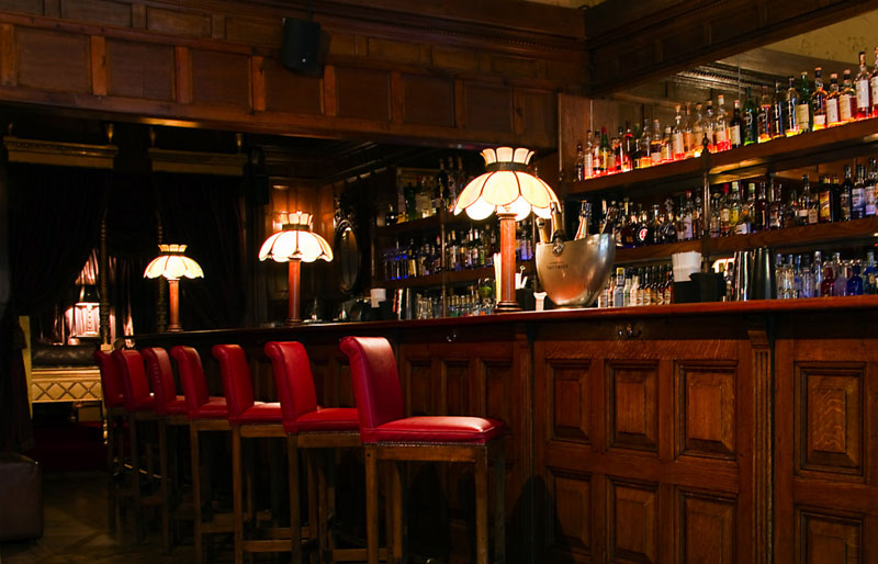 The 190 Bar at the Gore Hotel Kensington
