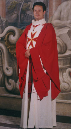 The Grand Duke of Tuscany dressed in the cloak of the Order of Santo Stefano