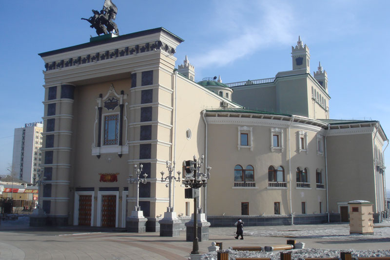 The Opera House at Ulan-Ude