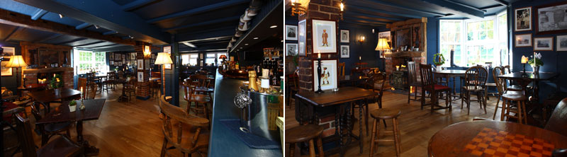 The-Queens-Arms-Stylish-Interior