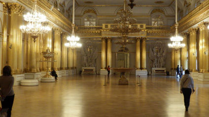 The Throne Room in the Winter Palace