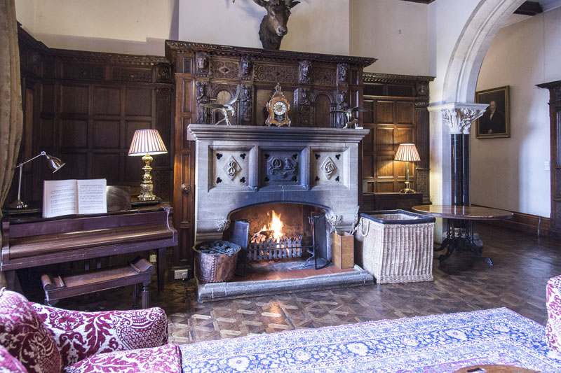 The Welcoming Hall at Huntsham Court