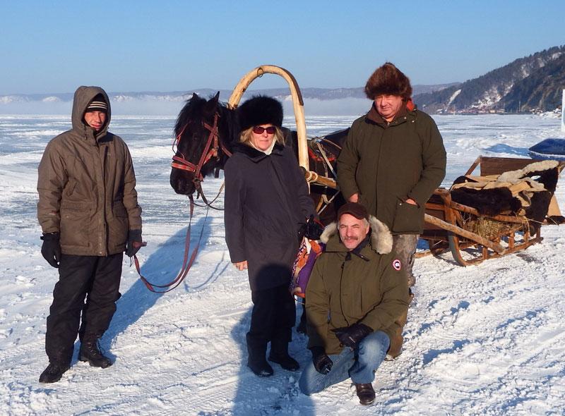 The Frozen Lake Baikal