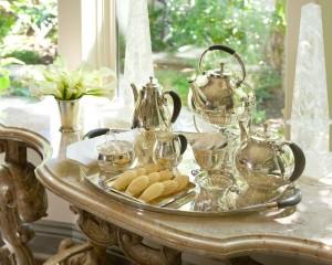 TheSilver Fund Georg Jensen Cosmos Tea Set