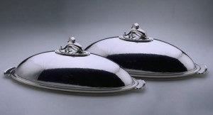 The Silver Fund Georg Jensen Fish Dishes