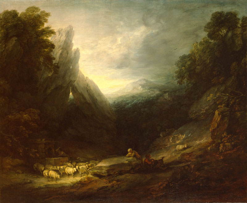 Thomas Gainsborough's Romantic Landscape