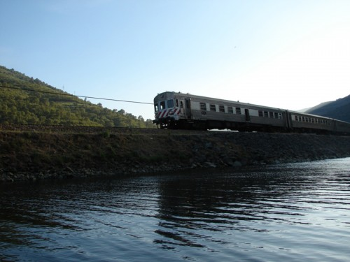 Travelling by train is the best way to enjoy the beauty of the Douro Valley