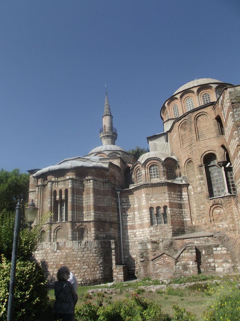 Turkey Istanbul Chora Church