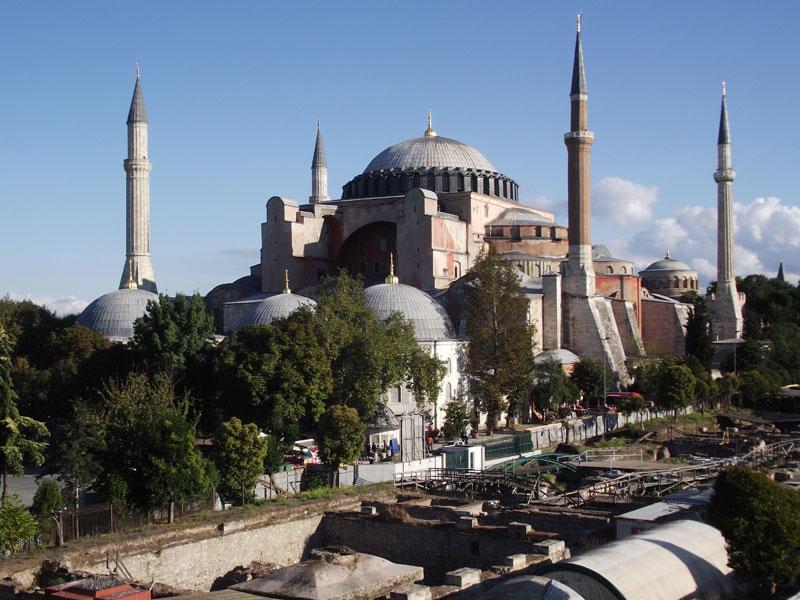 Turkey Istanbul Hagia Sophia