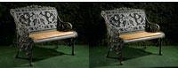 Two-Coalbrookdale-Nasturtium-Seats