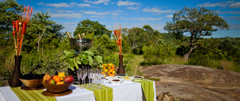 Ulusaba Bush Breakfast