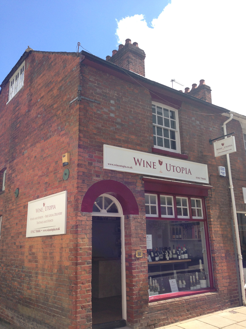 Utopia Wine Shop Winchester