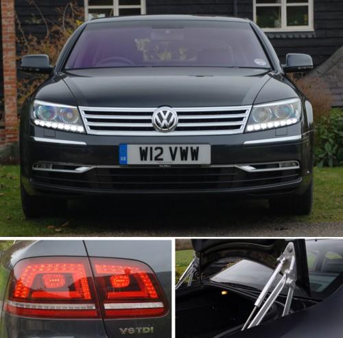 VW Phaeton exterior details